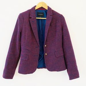 Banana Republic women's structured blazer jacket